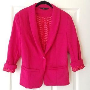 Mossimo hot pink blazer